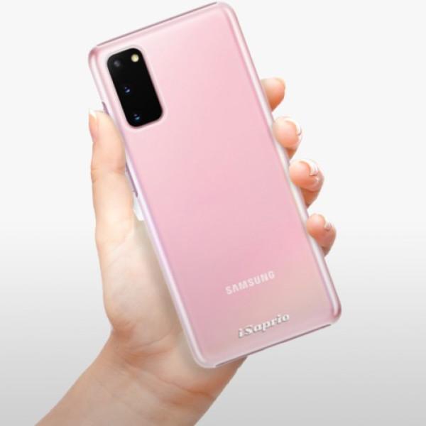 Plastové pouzdro iSaprio - 4Pure - mléčný bez potisku - Samsung Galaxy S20