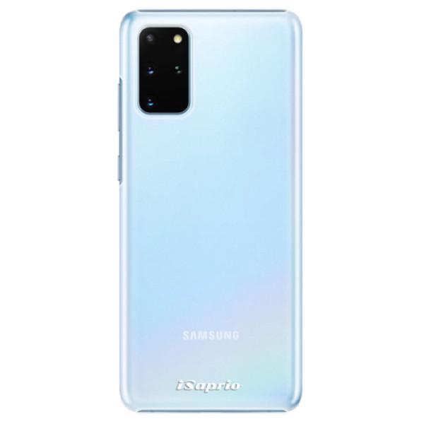 Plastové pouzdro iSaprio - 4Pure - mléčný bez potisku - Samsung Galaxy S20+