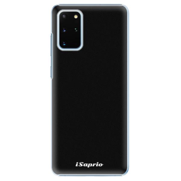 Plastové pouzdro iSaprio - 4Pure - černý - Samsung Galaxy S20+