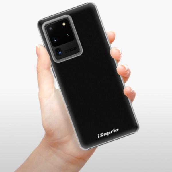 Plastové pouzdro iSaprio - 4Pure - černý - Samsung Galaxy S20 Ultra