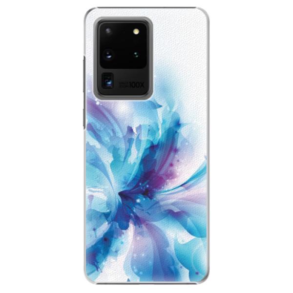 Plastové pouzdro iSaprio - Abstract Flower - Samsung Galaxy S20 Ultra