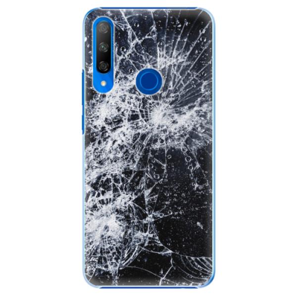 Plastové pouzdro iSaprio - Cracked - Huawei Honor 9X