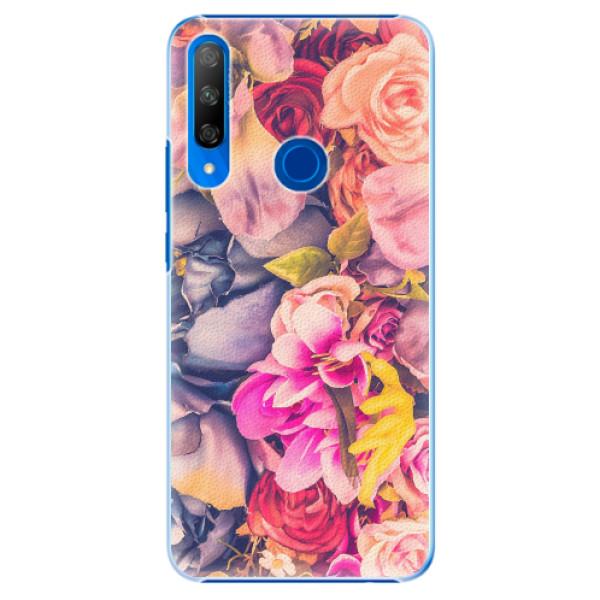 Plastové pouzdro iSaprio - Beauty Flowers - Huawei Honor 9X