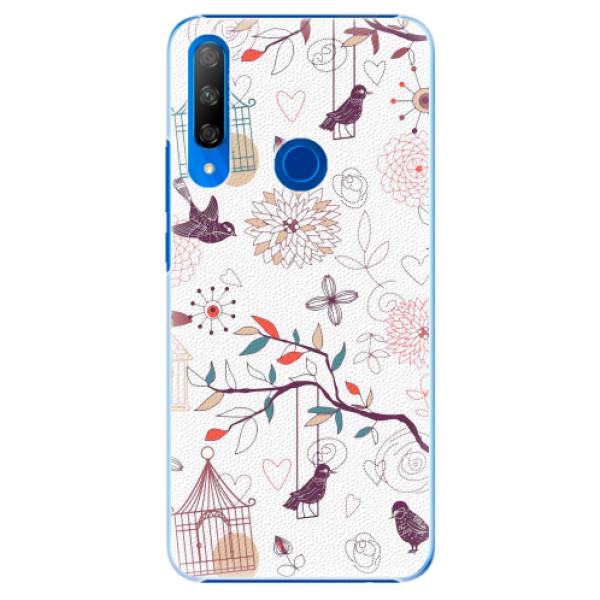 Plastové pouzdro iSaprio - Birds - Huawei Honor 9X