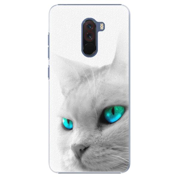 Plastové pouzdro iSaprio - Cats Eyes - Xiaomi Pocophone F1