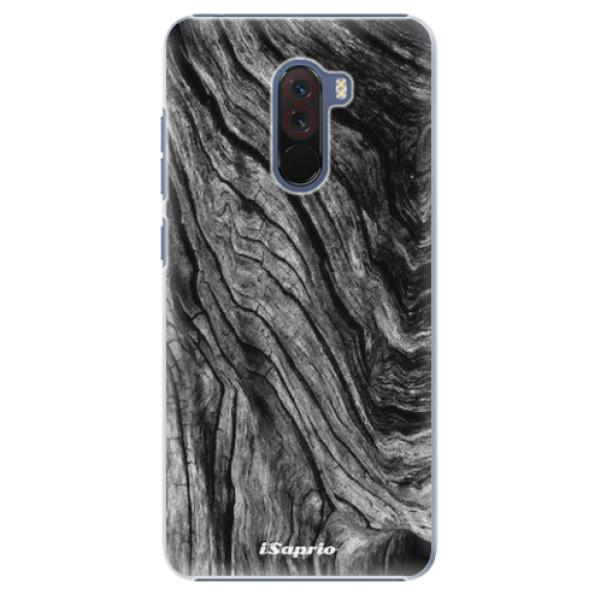 Plastové pouzdro iSaprio - Burned Wood - Xiaomi Pocophone F1