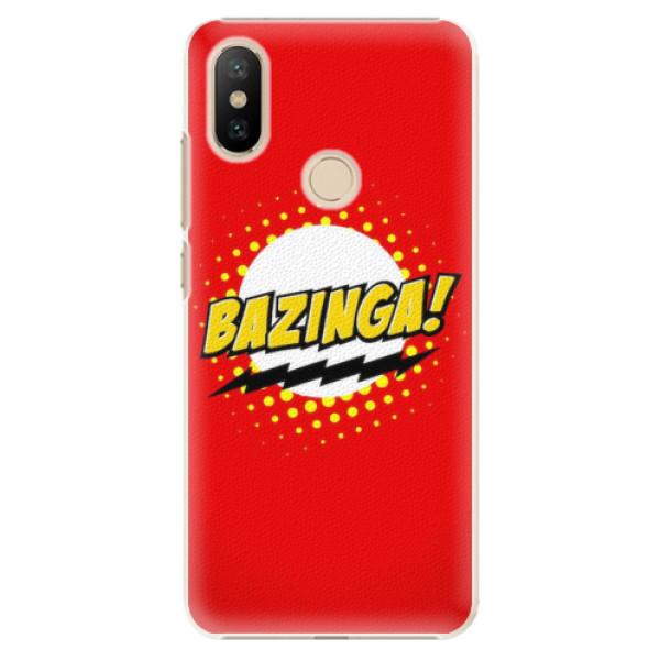 Plastové pouzdro iSaprio - Bazinga 01 - Xiaomi Mi A2