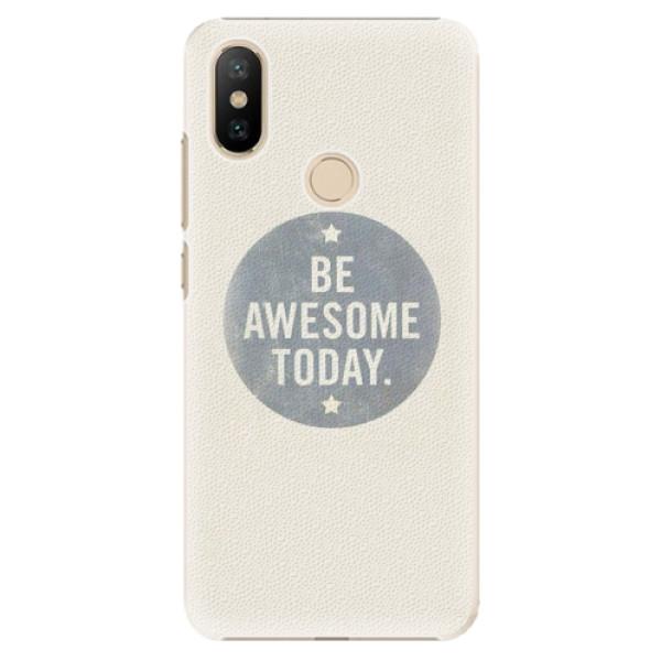 Plastové pouzdro iSaprio - Awesome 02 - Xiaomi Mi A2