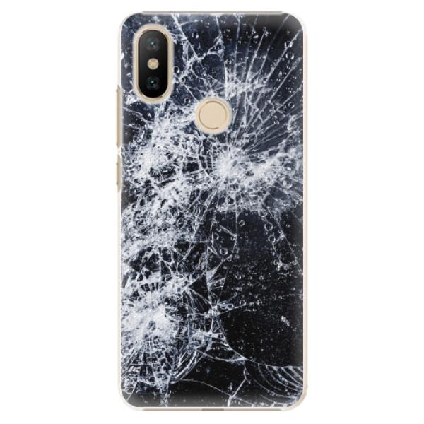 Plastové pouzdro iSaprio - Cracked - Xiaomi Mi A2