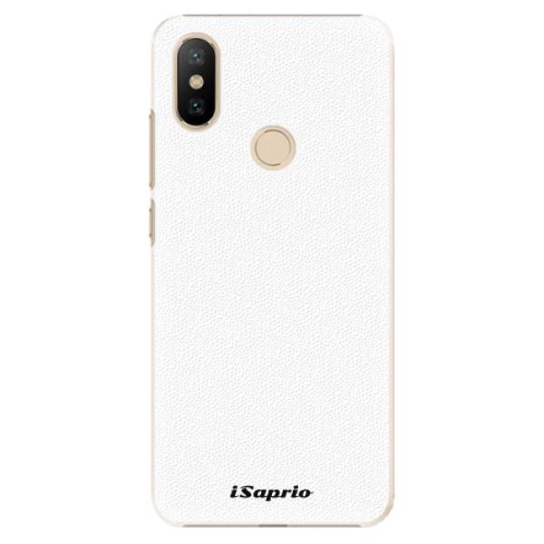 Plastové pouzdro iSaprio - 4Pure - bílý - Xiaomi Mi A2
