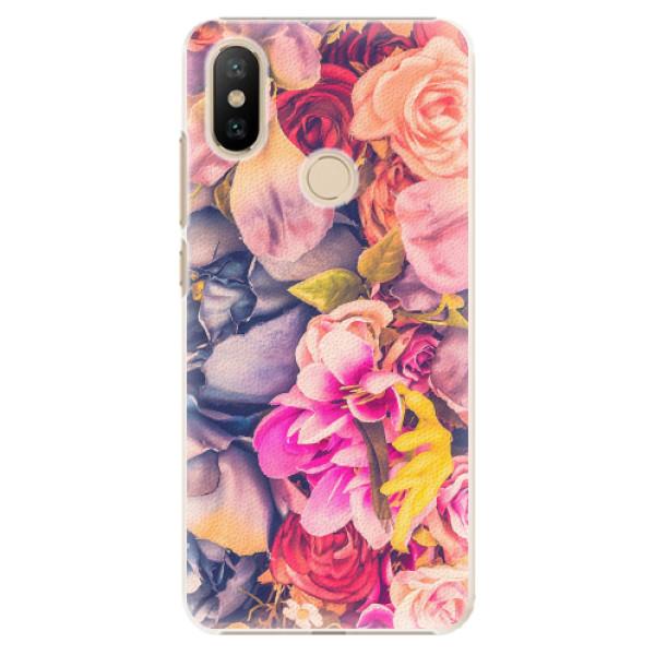 Plastové pouzdro iSaprio - Beauty Flowers - Xiaomi Mi A2