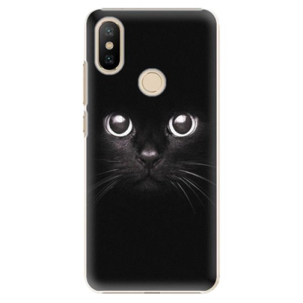 Plastové pouzdro iSaprio - Black Cat - Xiaomi Mi A2