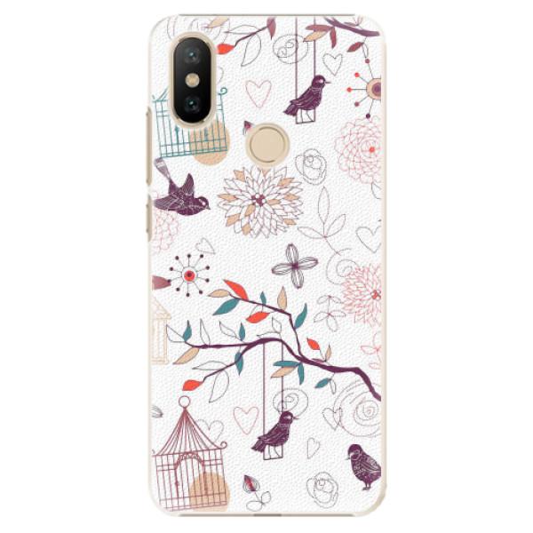 Plastové pouzdro iSaprio - Birds - Xiaomi Mi A2