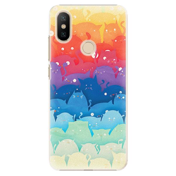 Plastové pouzdro iSaprio - Cats World - Xiaomi Mi A2