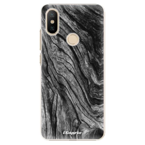 Plastové pouzdro iSaprio - Burned Wood - Xiaomi Mi A2