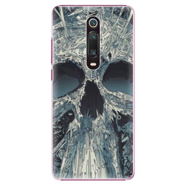 Plastové pouzdro iSaprio - Abstract Skull - Xiaomi Mi 9T