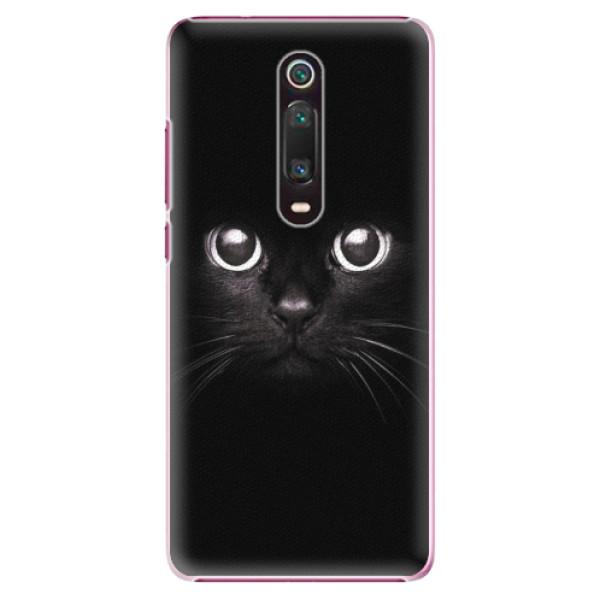 Plastové pouzdro iSaprio - Black Cat - Xiaomi Mi 9T