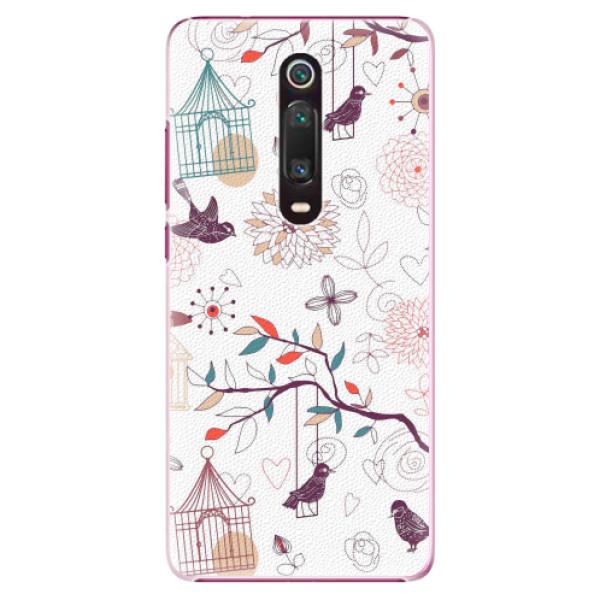 Plastové pouzdro iSaprio - Birds - Xiaomi Mi 9T