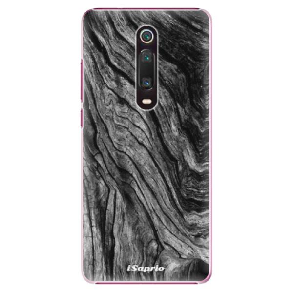 Plastové pouzdro iSaprio - Burned Wood - Xiaomi Mi 9T
