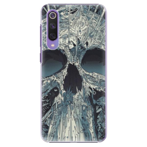 Plastové pouzdro iSaprio - Abstract Skull - Xiaomi Mi 9 SE