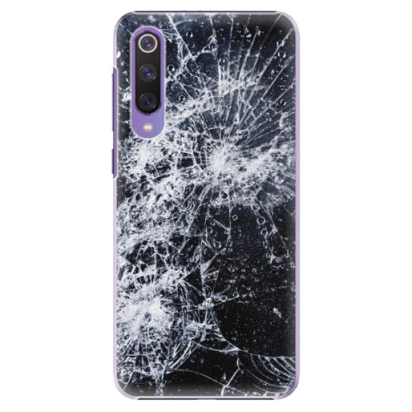 Plastové pouzdro iSaprio - Cracked - Xiaomi Mi 9 SE