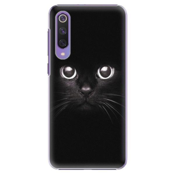 Plastové pouzdro iSaprio - Black Cat - Xiaomi Mi 9 SE