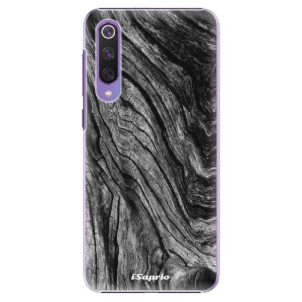 Plastové pouzdro iSaprio - Burned Wood - Xiaomi Mi 9 SE