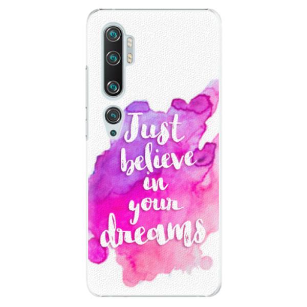 Plastové pouzdro iSaprio - Believe - Xiaomi Mi Note 10 / Note 10 Pro