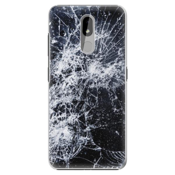 Plastové pouzdro iSaprio - Cracked - Nokia 3.2