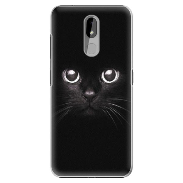 Plastové pouzdro iSaprio - Black Cat - Nokia 3.2