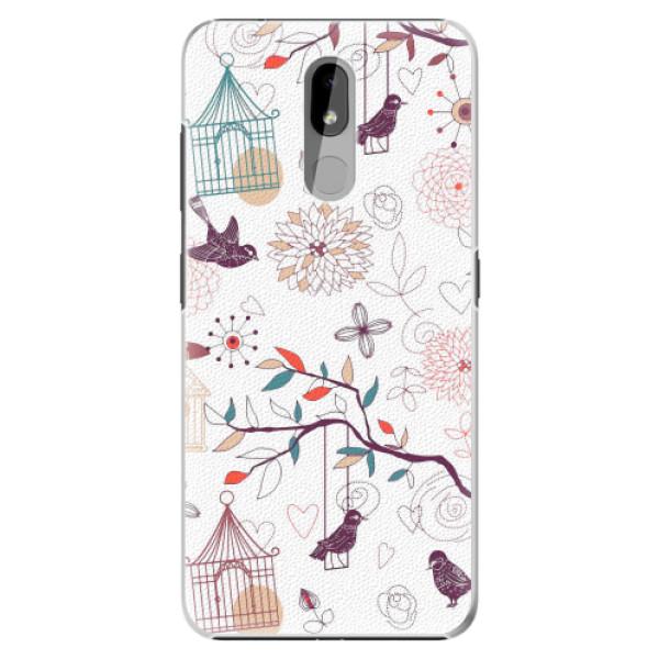 Plastové pouzdro iSaprio - Birds - Nokia 3.2