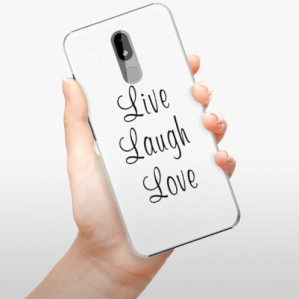 Plastové pouzdro iSaprio - Live Laugh Love - Nokia 3.2