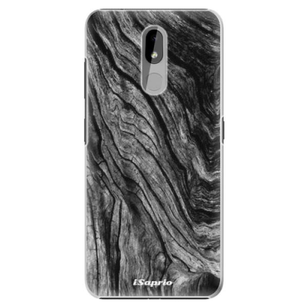 Plastové pouzdro iSaprio - Burned Wood - Nokia 3.2