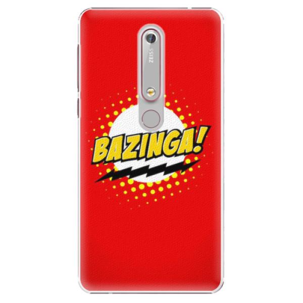 Plastové pouzdro iSaprio - Bazinga 01 - Nokia 6.1