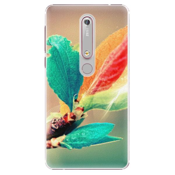 Plastové pouzdro iSaprio - Autumn 02 - Nokia 6.1