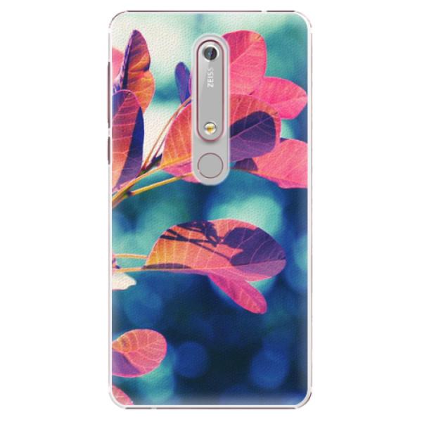 Plastové pouzdro iSaprio - Autumn 01 - Nokia 6.1