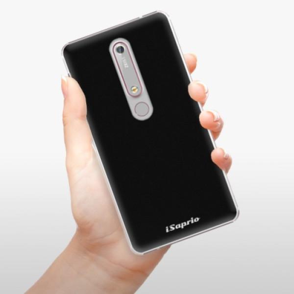 Plastové pouzdro iSaprio - 4Pure - černý - Nokia 6.1