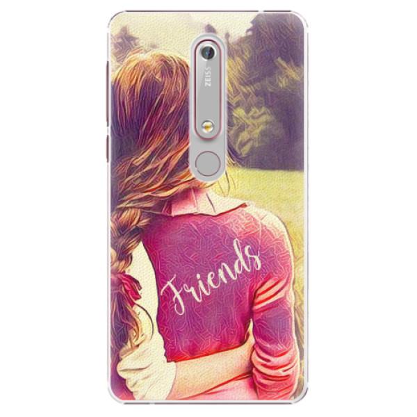 Plastové pouzdro iSaprio - BF Friends - Nokia 6.1