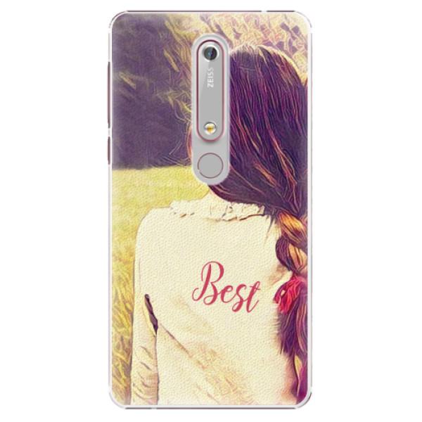 Plastové pouzdro iSaprio - BF Best - Nokia 6.1