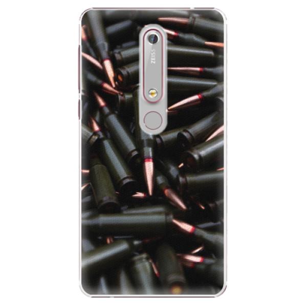 Plastové pouzdro iSaprio - Black Bullet - Nokia 6.1