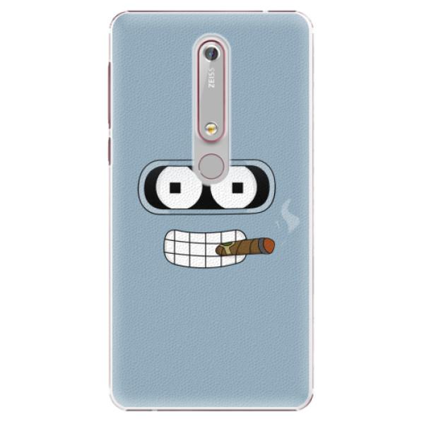 Plastové pouzdro iSaprio - Bender - Nokia 6.1