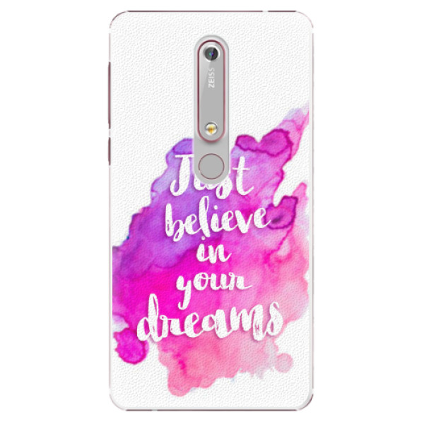 Plastové pouzdro iSaprio - Believe - Nokia 6.1