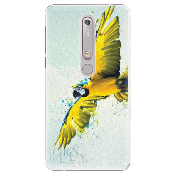 Plastové pouzdro iSaprio - Born to Fly - Nokia 6.1
