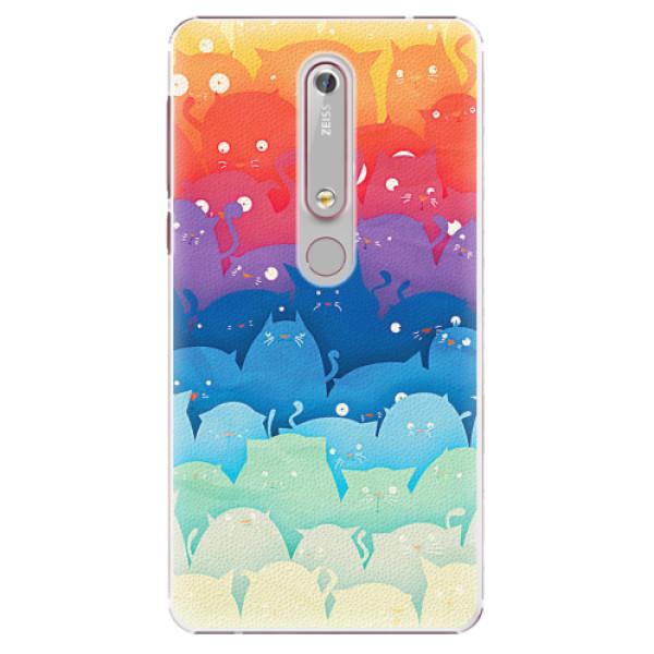 Plastové pouzdro iSaprio - Cats World - Nokia 6.1