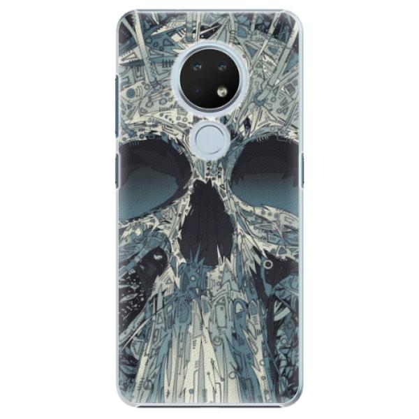 Plastové pouzdro iSaprio - Abstract Skull - Nokia 6.2