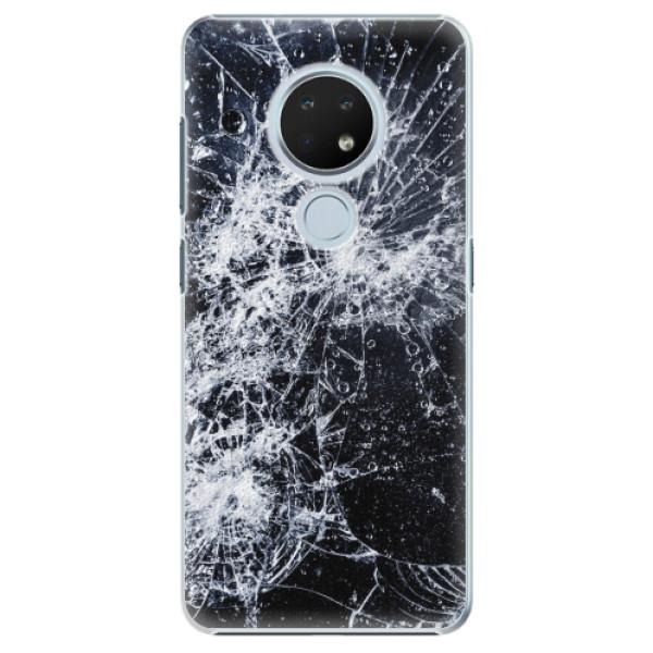 Plastové pouzdro iSaprio - Cracked - Nokia 6.2
