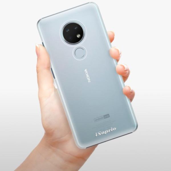 Plastové pouzdro iSaprio - 4Pure - mléčný bez potisku - Nokia 6.2