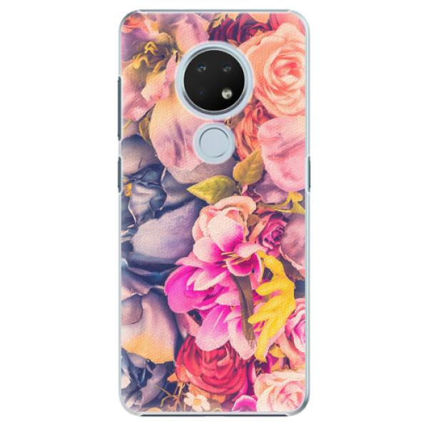 Plastové pouzdro iSaprio - Beauty Flowers - Nokia 6.2