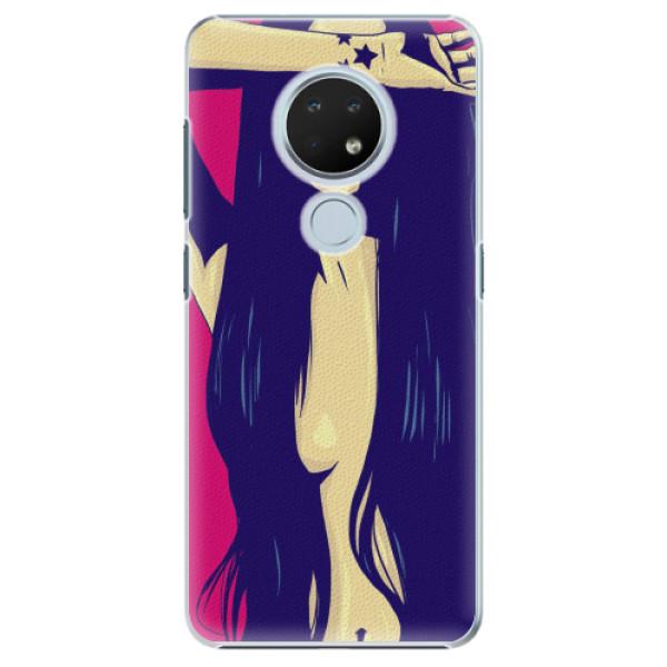 Plastové pouzdro iSaprio - Cartoon Girl - Nokia 6.2