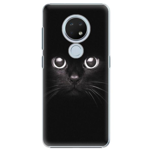Plastové pouzdro iSaprio - Black Cat - Nokia 6.2
